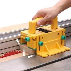 3D безопасный толкатель деревообрабатывающий переворачивающийся стол строгальный Вертикальный фрезерный плоский Строгальный стол для