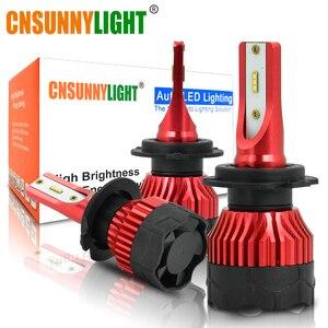 Image 5 - CNSUNNYLIGHT K5 H4 H7 H11 ZES LED H8 H9 H1 880 Car Headlight Bulbs 9005 9006 H13 Headlamp Lights Replace COB Auto Led Lamp 6500K