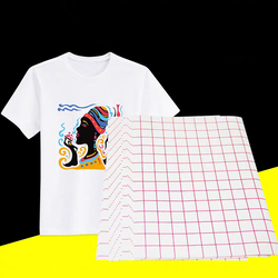 A4 20 шт./лот, бумага для переноса футболок, термопереводная бумага, 100s, темная цветная переводная бумага для текстиля, переводная бумага