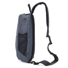 Бесплатный Рыцарь новые продукты usb зарядка нагрудный пакет Противоугонная нагрудная сумка Повседневная модная нагрудная сумка Большой размер