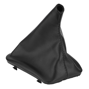 Car Gear Shift Stick Gaiter Boot Dust Cover For Bmw E36 E46 E34 E30 E28 E24 1998-2005 image