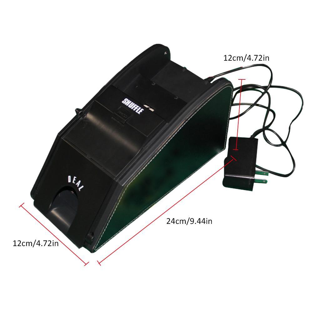 Balayeuse de cartes électronique automatique professionnelle 2 en 1 balayeuse de cartes Poker avec batterie - 4