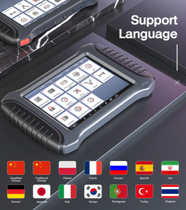Image 3 - XTOOL A80 Full System Car Diagnostic Tools Automotive OBD2 Code Reader XTOOL H6 Diagnostic scanner lifetime Free Update Online