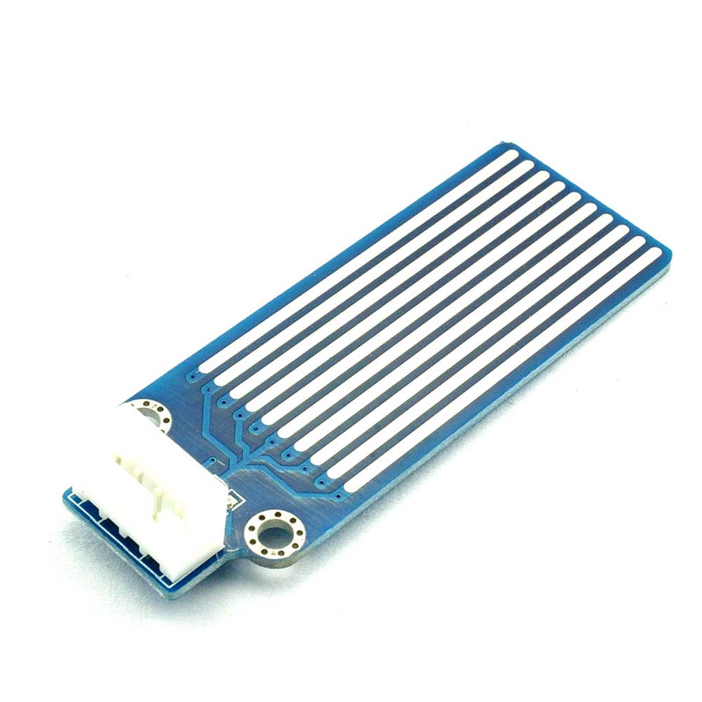 Taidacent Water Level Sensor PCB Board Rain Gauge Sensor Water Level Alarm Detector Water Rising Module Raindrop Sensor Board