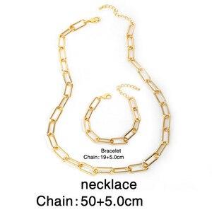 Ожерелье Браслет Ювелирные наборы для женщин модная цепочка золотой цвет Лошадь Кнут ожерелье и браслет высшего качества качественный подарок