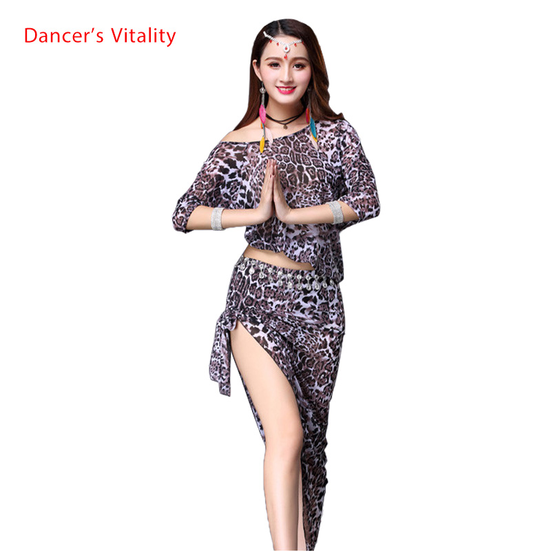 Eastern Oriental Belly Dance Costume Set Cropped Top Short Skirt For Women Belly Dancing Clothes Bellydance Indian Suit Wear