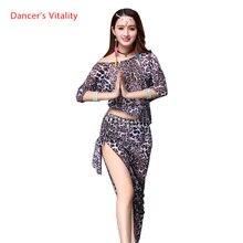 Wschodni kostium do orientalnego tańca brzucha zestaw krótki Top krótki spódniczka dla kobiet taniec brzucha ubrania Bellydance indyjski garnitur nosić
