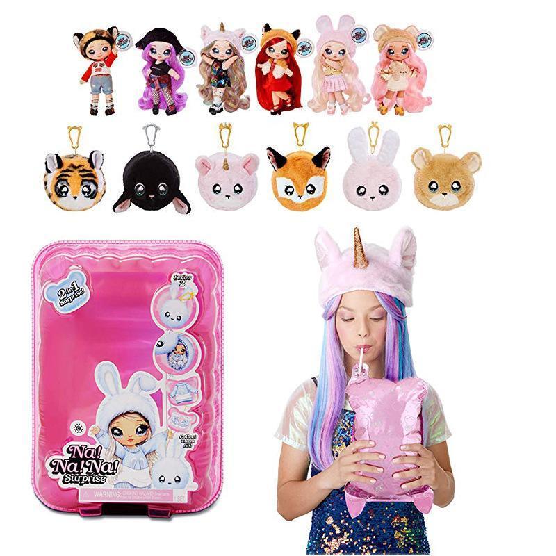 1 шт. NA! Удивленные модные куклы nanana lol игрушечные единороги Toy специальный подарок на день рождения и Рождество для девочек