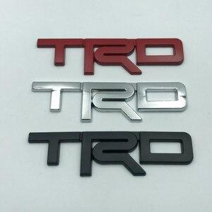 Металлический ТРД стикер автомобиля 3D эмблема тела автомобиля значок стикер Авто аксессуары