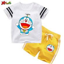 Комплект летней одежды для маленьких мальчиков Детский костюм
