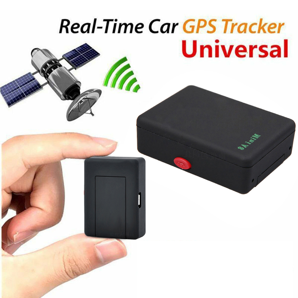 A8 Mini Gsm/gprs Tracker Global Real Time Gps Tracking Device With Sos Button For Cars Kids Elder Pets GPS Locator Finder Tool