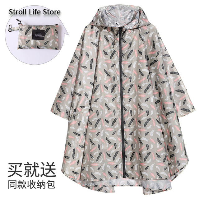 Long Raincoat Women Rain Poncho Hiking Cycling Large Size Clothes Korean Rain Coat Women Waterproof Suit Impermeable Gift Ideas 5
