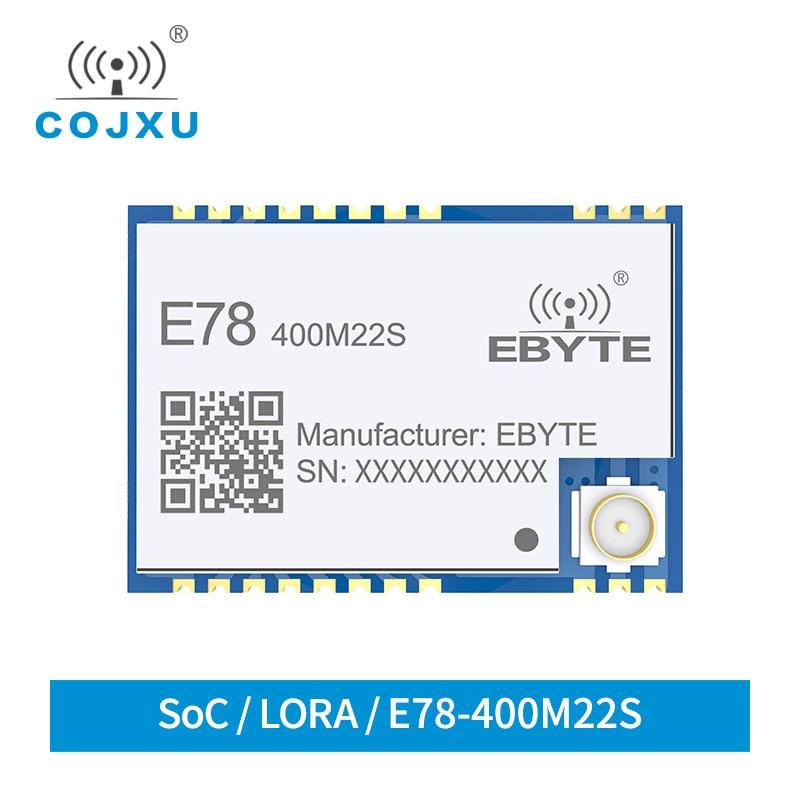 LoRaWAN Module SX1262 ASR6501 LoRa TCXO Spread Spectrum Ebyte E78-400M22S LoRa WAN Llong Distance Communication Low Power Module