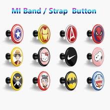 Кнопочный браслет для xiaomi mi band 4 3 2 mi Band 4 3 2 1 ремешок с узором Пряжка mi band 4 Ограниченная серия ремешок аксессуар