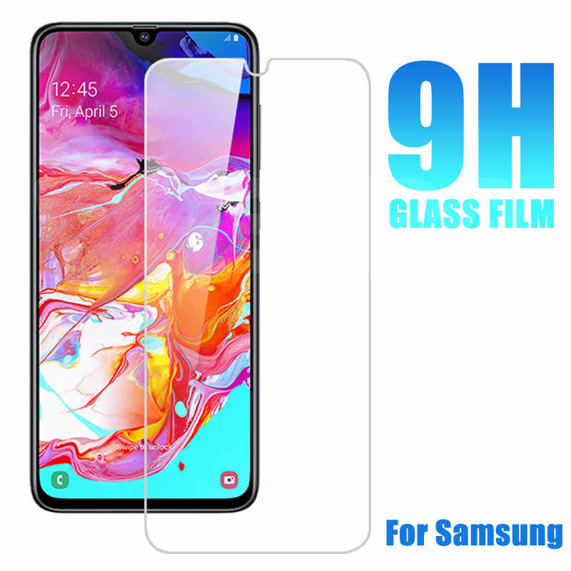 9H Protective Glass on the For Samsung Galaxy A10 A20 A30 A40 A50 A60 A70 A80 A90 Tempered Screen Protector Safety Glass Film
