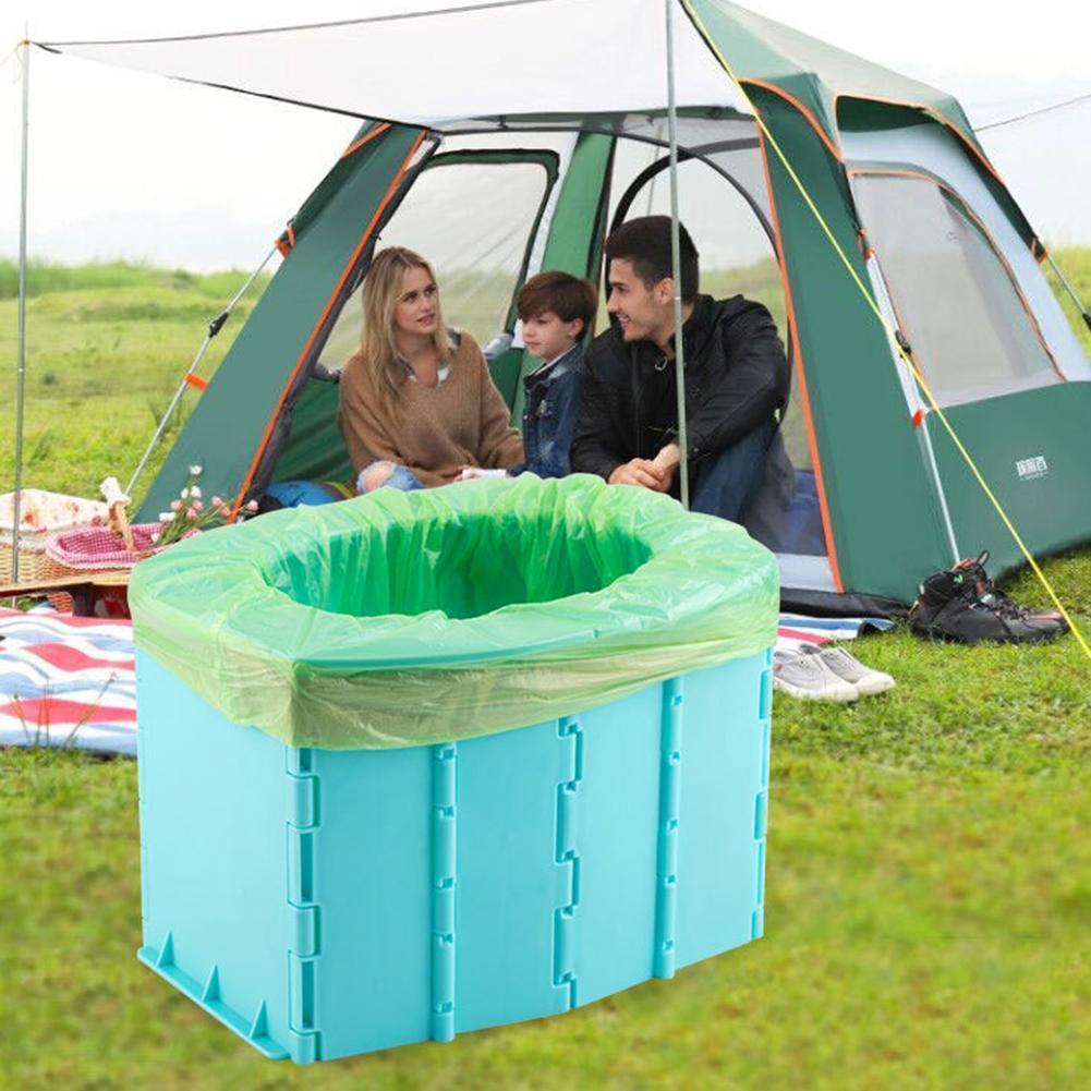 Portátil de viagem dobrável wc mictório móvel assento para acampamento longa viagem caminhadas para o miúdo