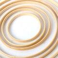 1/5Pcs Home decor Bambus Ring Holz kreis runde Catcher DIY Hoop für Blume kranz Haus garten pflanze dekor Hängenden korb