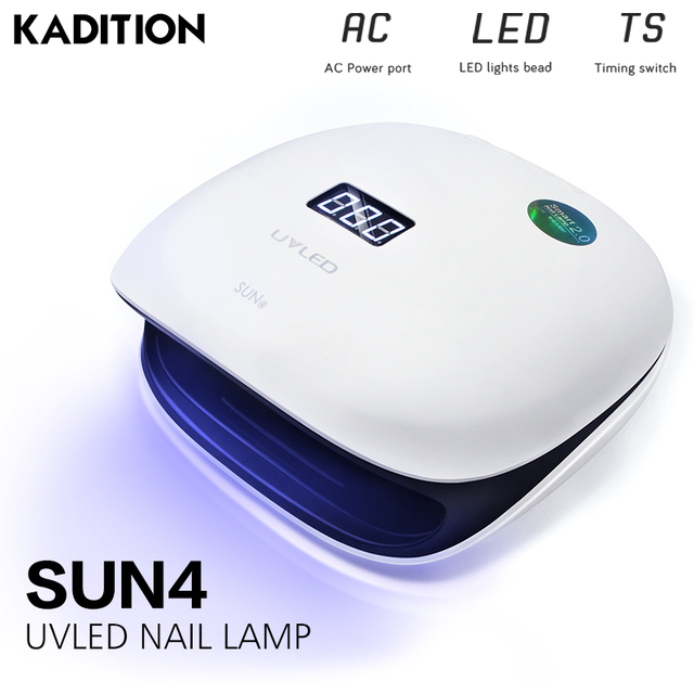Gel Lamp Nail Dry Quickly Nail Dryer Nail Light Sensor Timer Manicure UV Lamp for Blow Dryer 48W Led Nail Lamp Nail UV Lamp