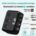 MR235Pro беспроводной Bluetooth 5 0 аудио приемник APTX оптический  коаксиальный и 3 5 мм Aux аудио адаптер для дома стерео колонки