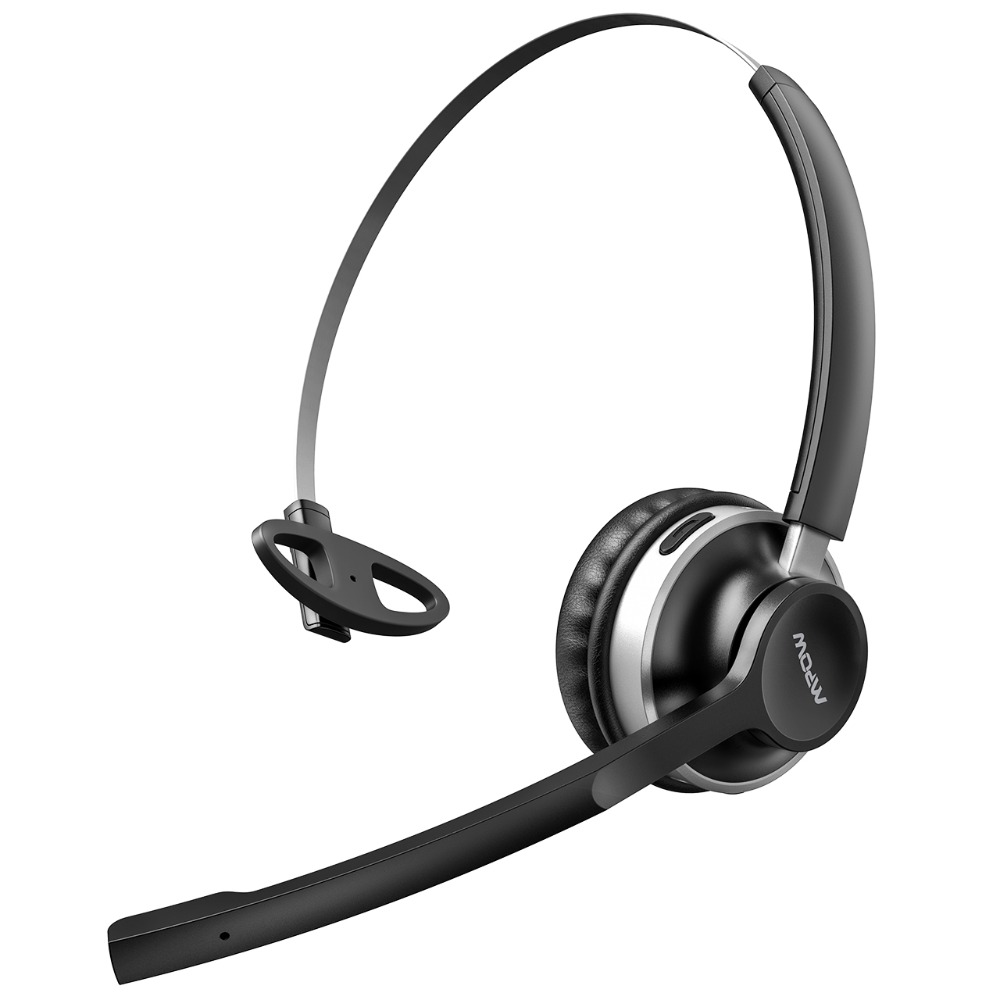 Mpow HC3 Bluetooth Headphones Crystal Clear Wireless Headphones With Dual Noise Canceling Microphones For Call Center&Trucker (8)