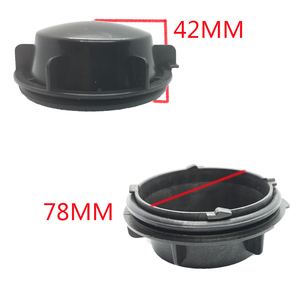 Image 5 - 1 pc for skoda superb Headlamp dust cover waterproof cap Xenon lamp LED bulb extension dust cover Bulb trim panel Lamp shell