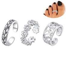 Комплект из 3 предметов кольцо на носок сексуальные простые