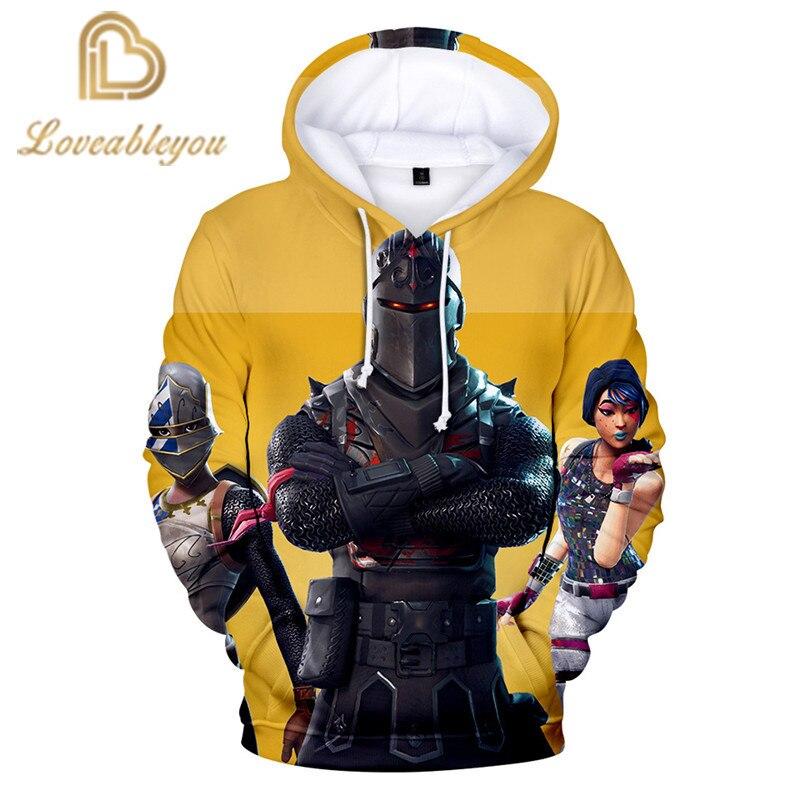 2019 Gaming Heroes Hoodie Anime Unisex 3D Print Hooded Harajuku Streetwear Hoodies Childrens Hoodie cosplay men sweatshirt 1