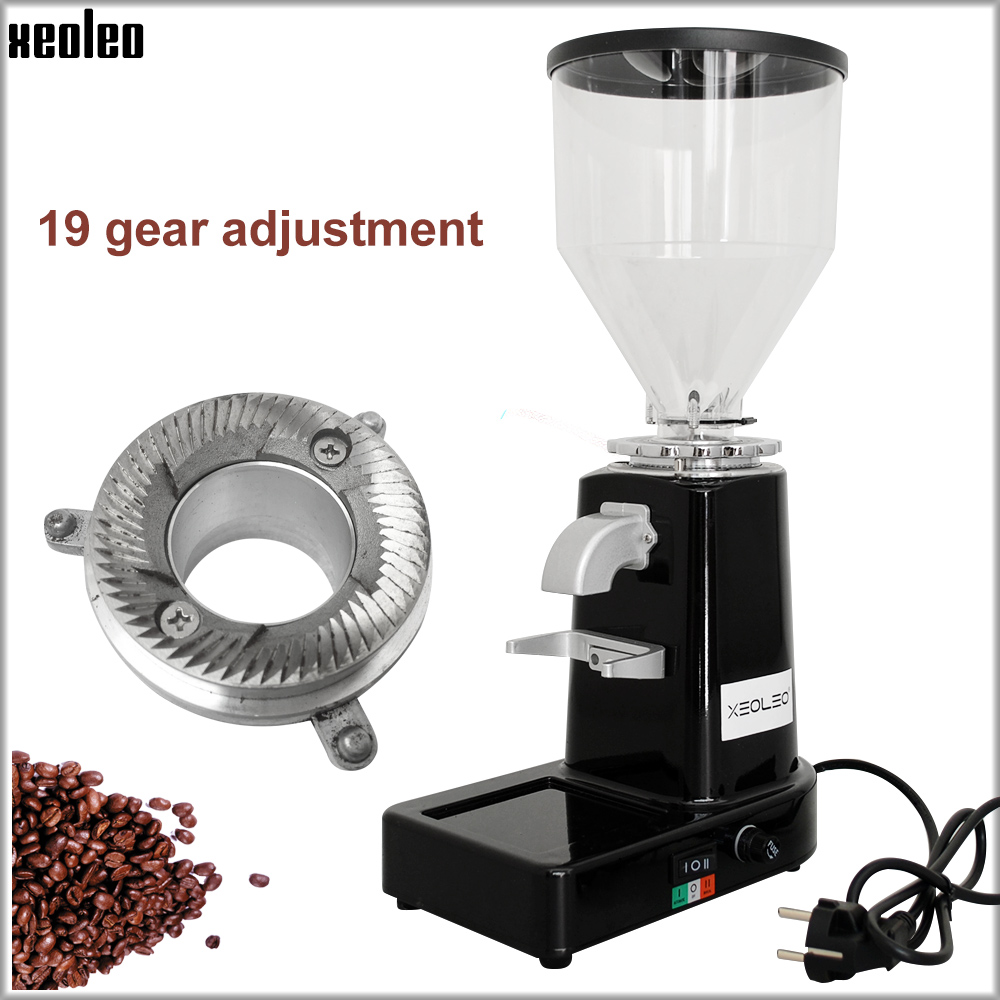 Xeoleo Electric Coffee grinder Commercial&home Coffee Bean Grinder Turkish coffee Milling machine Professional Miller 200Welectric coffee grindercoffee grinderbean grinder -
