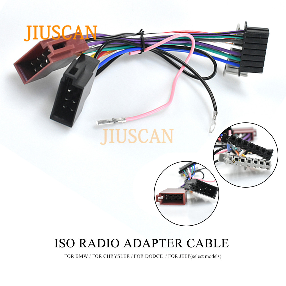JIUSCAN 12 108 ISO Radio Adapter for CHRYSLER for DODGE for ... on jeep seat belt harness, jeep bracket, jeep wiring diagram, jeep electrical harness, jeep gas sending unit, jeep carrier bearing, jeep condensor, jeep key switch, jeep exhaust leak, jeep vacuum advance, jeep engine harness, jeep intake gasket, jeep sport emblem, jeep visor clip, jeep exhaust gasket, jeep knock sensor, jeep tach, jeep relay wiring, jeep wire connectors, jeep wiring connectors,