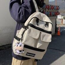 JOYPESSIE Fashion Women Backpack Laptop Mochila Cow Print School Bag Teenager Girl Bookbag Rucksack Femal Leisure Travel Bagpack