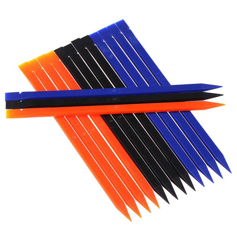 Repair-Kits 10 PCS Mobile Phone Repair Tool Spudgers Color : Red 5 PCS Round + 5 PCS Square