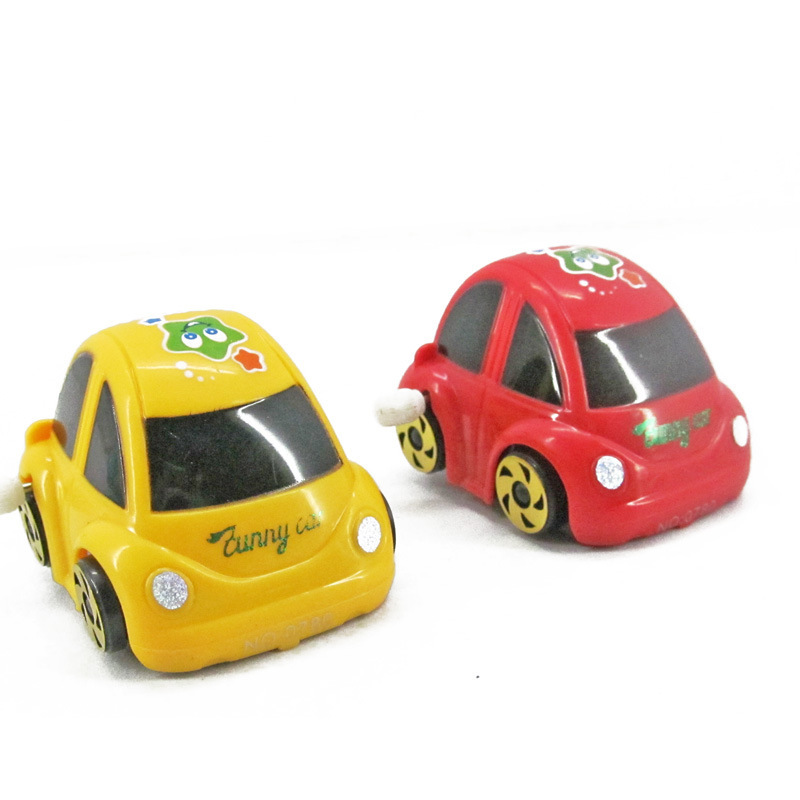 Winding Wind-up Toy 360-Degree Rotating Somersault Beetle Car Stall Children Creative Toy Mixed Batch