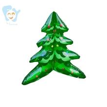 18 niskie pcv dmuchana choinka zabawka do domu klub Bar woda Beach Party Dekoracje świąteczne ozdoby z otworem do zawieszania tanie tanio FAHC small inflatable Christmas tree