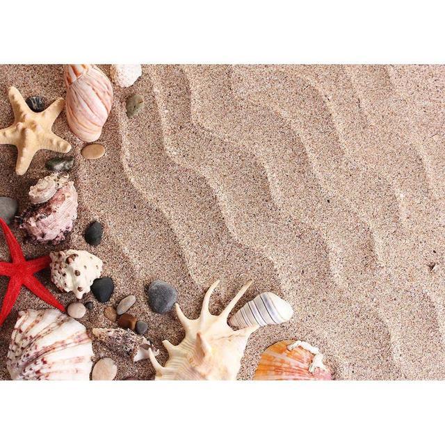 Denizyıldızı kabuk kabuklu dalgalanma kum fotoğraf arka plan özel Photocall zemin çocuk bebek oyuncak fotoğraf sahne Photoshoot