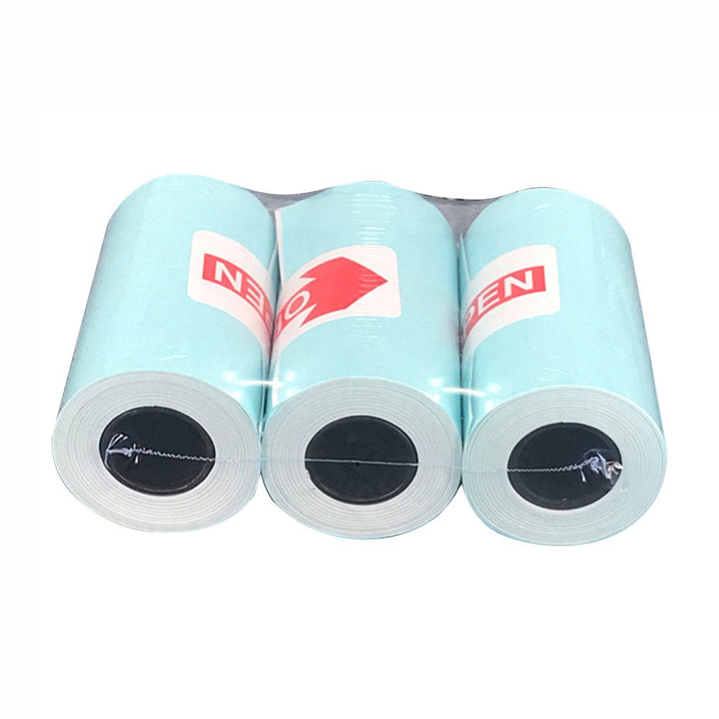 3 Roll/SET Durable Printing For Paperang Sticker Paper Photo Paper For Mini Pocket Photo Printer Bill Receipt Papers