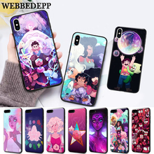 WEBBEDEPP steven universe real life Silicone soft Case for iPhone 5 SE 5S 6 6S Plus 7 8 11 Pro X XS Max XR