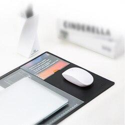 Xiaomi Fizz przechowywanie wielofunkcyjne podkładka na biurko mata komputerowa dokumenty notatki pudełko na karty biznesowe podkładka pod mysz dla biur 2