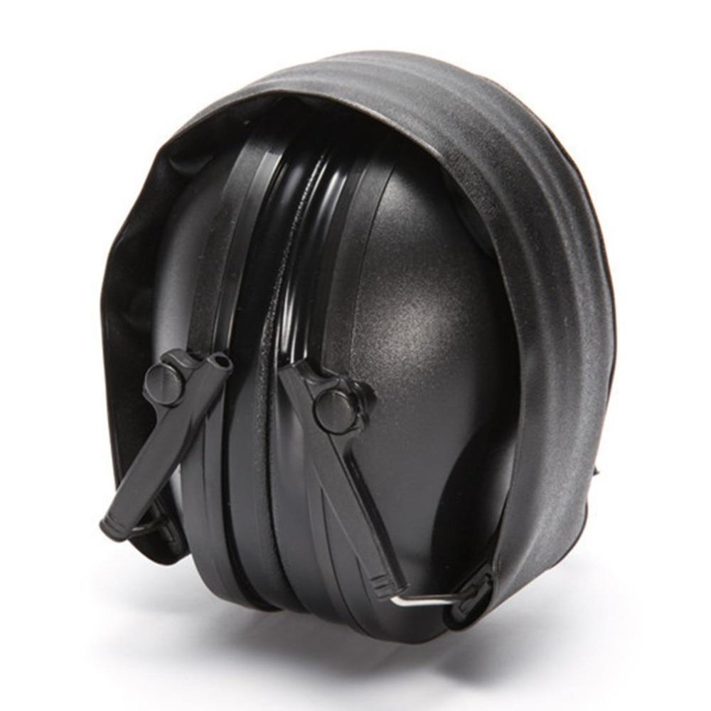 Новинка 2021, Электронные Наушники для стрельбы, уличные спортивные наушники с усилением звука и защитой от шума, складная тактическая Защитная гарнитура для слуха-5