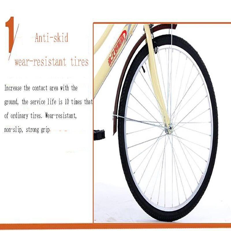 resistente ao desgaste pneu bicicleta