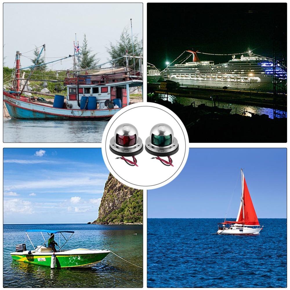 Pactrade Marine Boat Mini Green Starboard LED Navigation Light 12v up to 1NM
