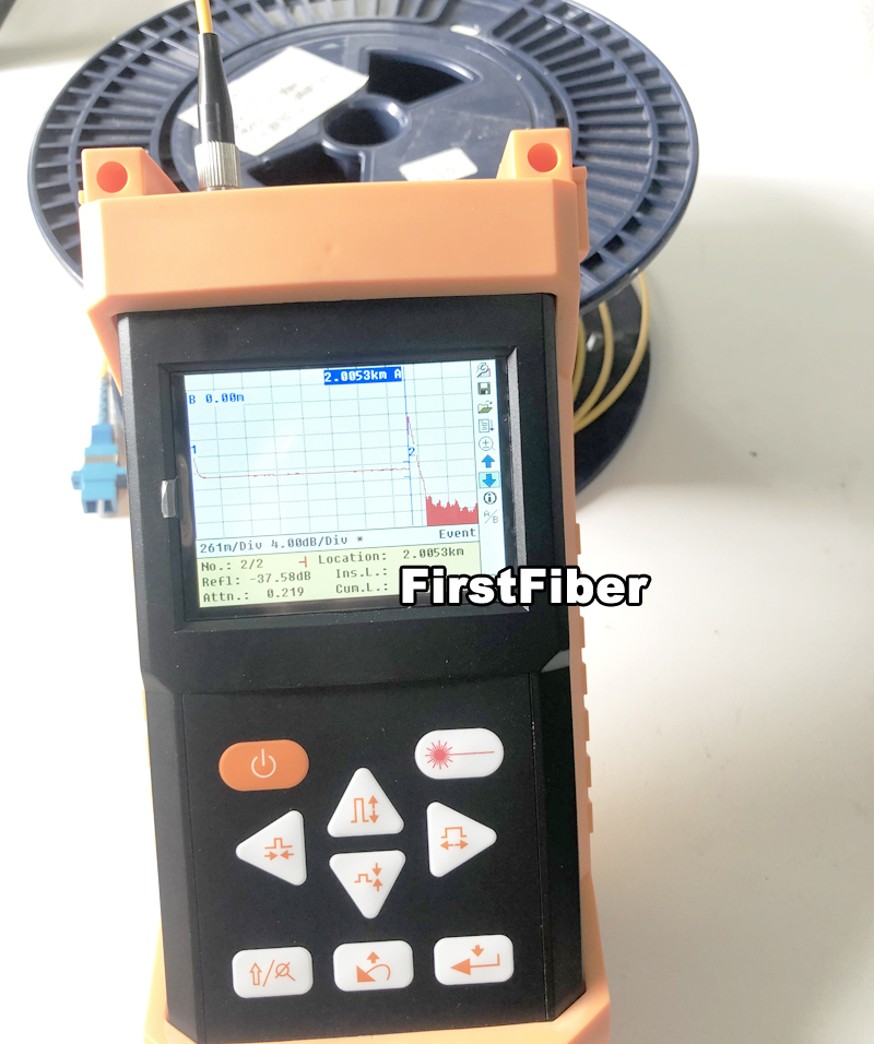 ShinewayTech Palm OTDR S120A 1310nm And 1550nm Optical Reflectometer Support Testing Report Print Mini Optical Time Domain