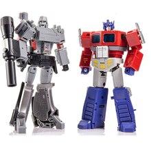 Transformação mini op comandante com reboque rolo voando mochila jinbao mpp10 MPP10 B mpp10 figura de ação robô brinquedos presentes