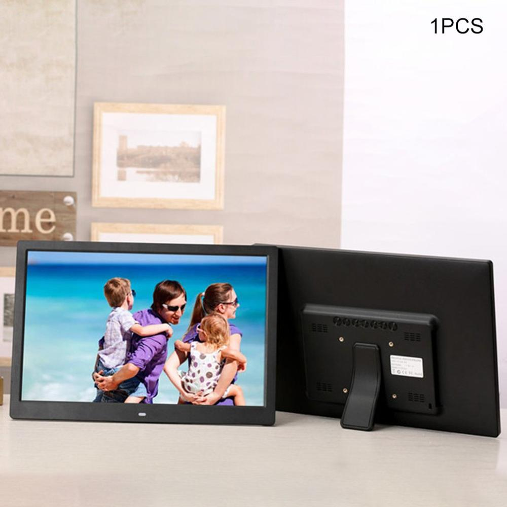 15 pouces écran LED rétro-éclairage HD cadre Photo numérique Album électronique Photo Film de musique pleine fonction bon cadeau