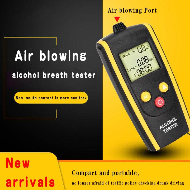 LAMJAD цифровой Воздухопроницаемый Алкотестер Портативный ЖК дисплей алкотестер Алкотестер      АлиЭкспресс
