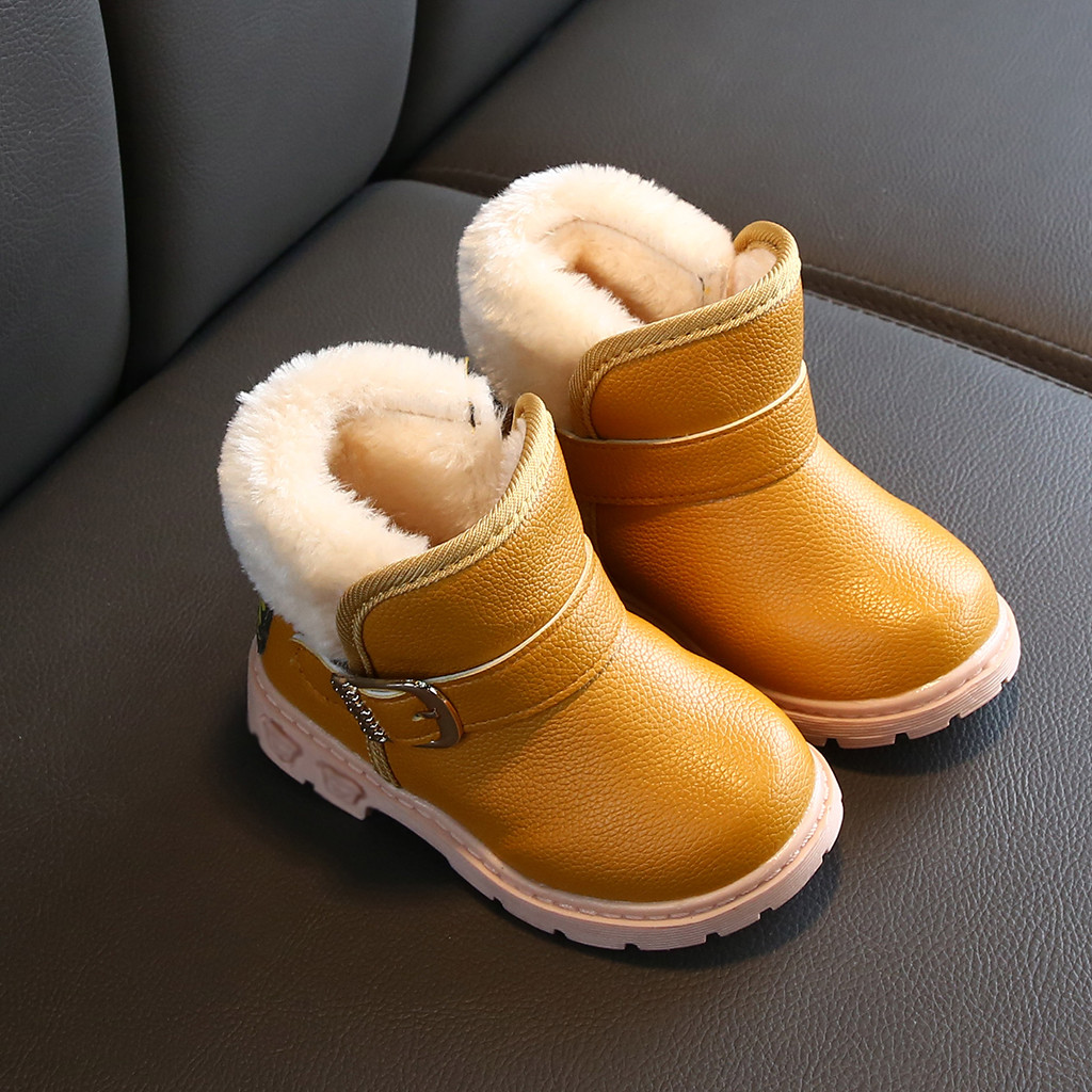 2019 Autumn Fashionable Toddler Infant Kids Baby Boys Girls Fashion Solid Ankle Sport Shoes Boots Boys Grils Brand Kids Shoes#9
