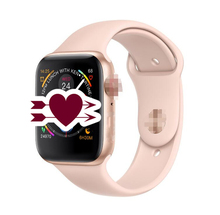 NEW 44mm size 1:1 Smart Watch IWO 8 plus Alloy matte case similar series 4 Heart Rate Smartwatch SIRI For iOS Android PK 5 6