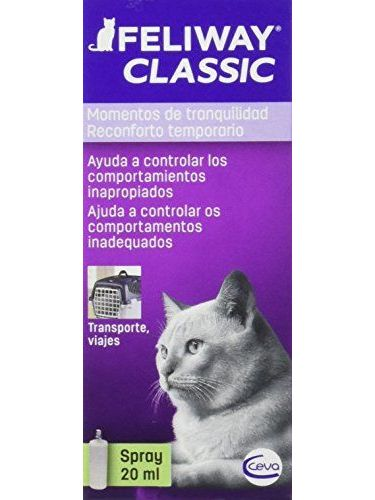 Feliway Classic, Spray Feromona Facial Anti Estrés Para Gatos - 20 Ml