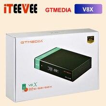 2021 oryginalny GTMEDIA V8X DVB S/S2/S2X odbiornik TV satelitarny z obsługą gniazda karty CA, cccam Newcam,Mgcam H.265 zdjęcie w hiszpanii
