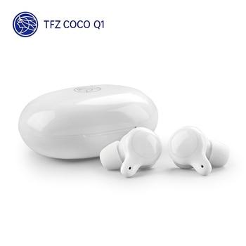 TFZ COCO Q1 TWS Bluetooth 5.0 Earphone Support AAC SBC Double Noise Reduction TFZ Q1 HiFi Wireless Earphone 1