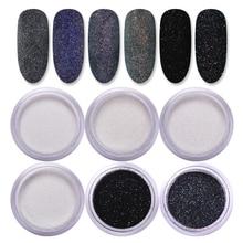 1 коробка 2/10 г сахарный порошок для ногтей сверкающий Блестящий пигмент Пыль для волос шерстяная декоративная накладка для ногтей Аксессуа...